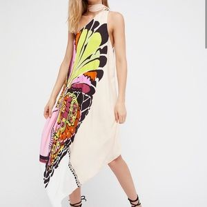 Free People Bold as Love One Shoulder Dress